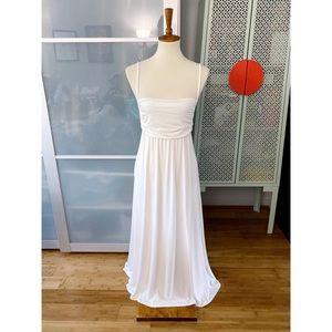 Rachel Pally Lorelle Midi Maternity Dress in White